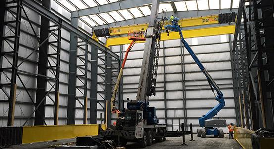steelway 0000s 0009s 0002 Cranes1 - Buildings with Cranes